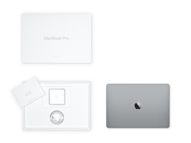 MacBook Proのパッケージの内容、アクセサリーなど。